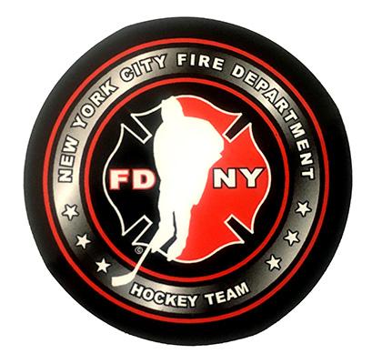 """Official FDNY Hockey Team 1.5"""" Sticker"""