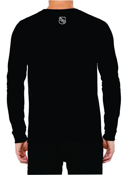 FDNY Hockey Team Logo Long Sleeve T-Shirt - Black