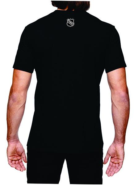 FDNY Hockey Team Logo Short Sleeve T-Shirt - Black